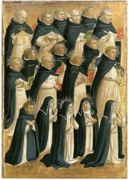 Saints Dominicains (partie gauche)