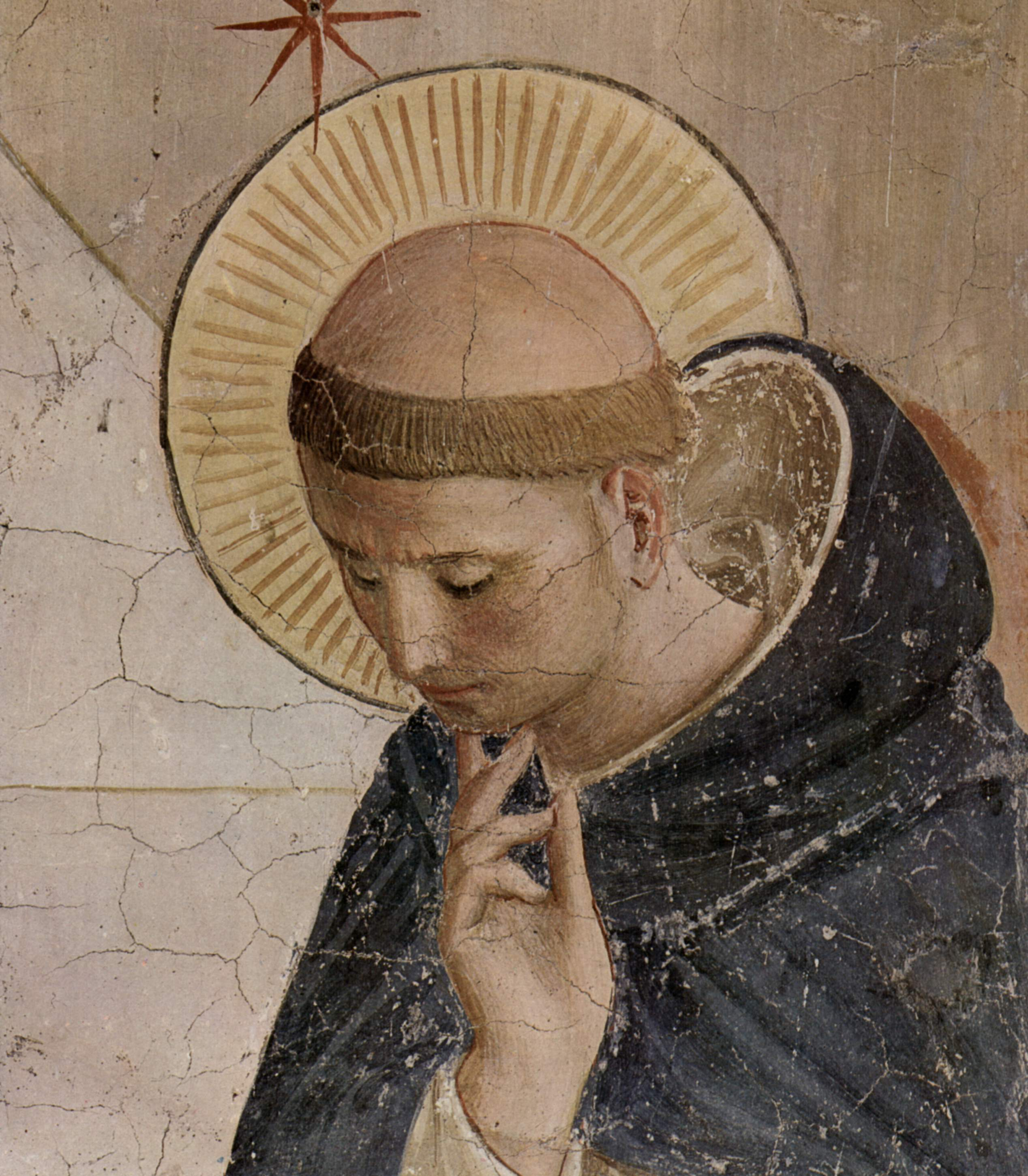 Saint Dominique par Fra Angelico